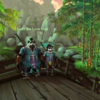 Two monks from the Wandering Isle