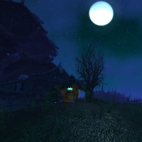 Duskwood at night